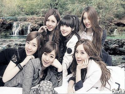 Wallpaper Girl Band Korea T-Ara