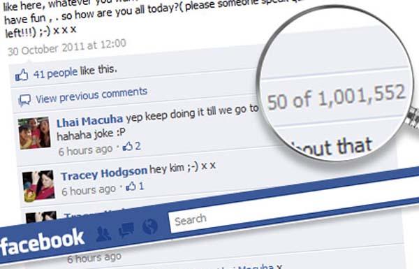 Komentar Terbanyak Pada Status Facebook [lensaglobe.blogspot.com]