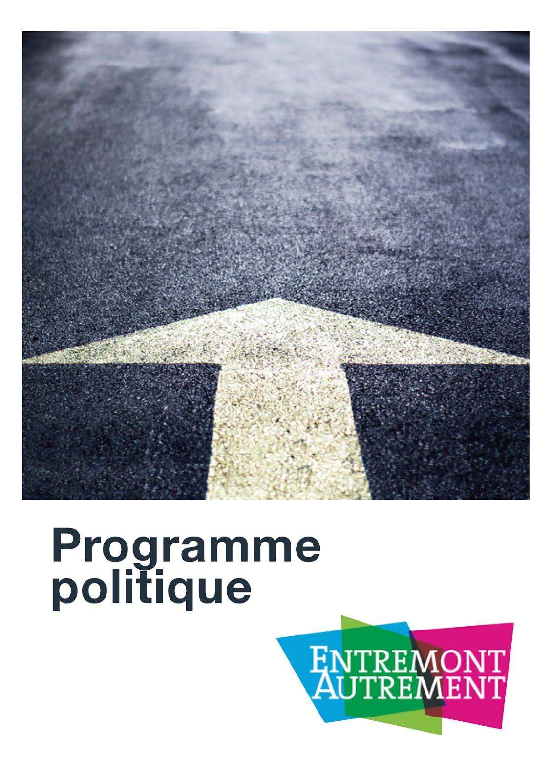 Programme politique