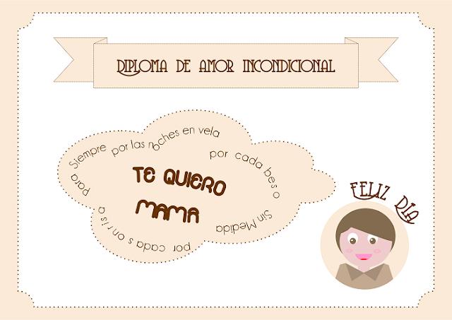 imprimible niño mama personalizado