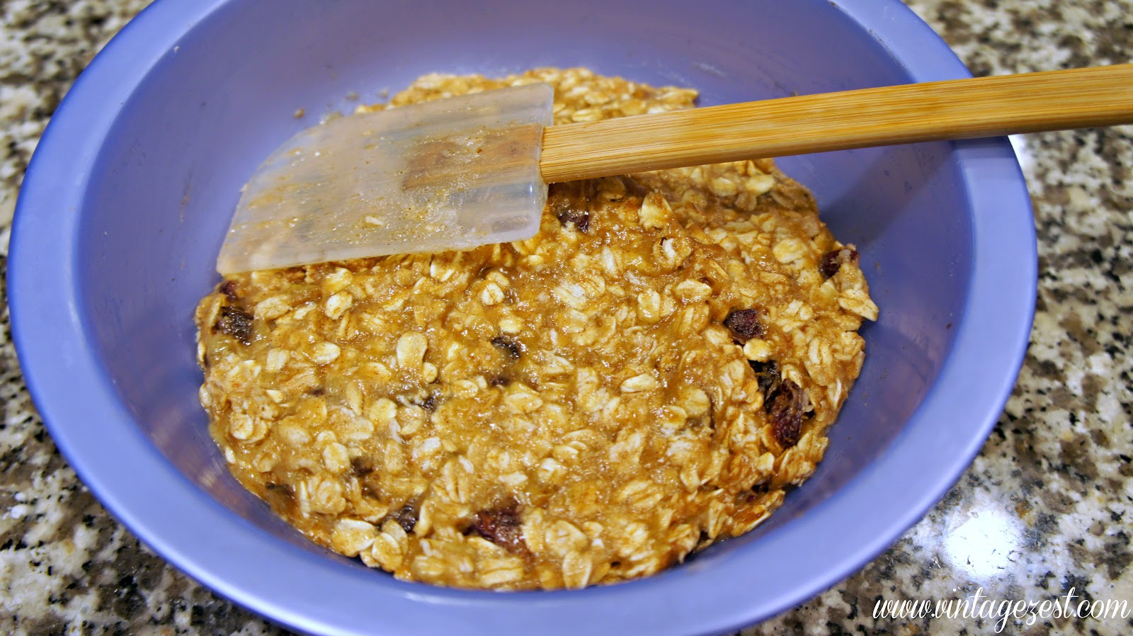 Favorite Breakfast #4: Banana Oatmeal Breakfast Cookies on Diane's Vintage Zest!  #breakfast #recipe #banana #cookies