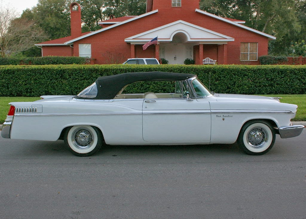 Chrysler 300 Convertible >> All American Classic Cars: 1956 Chrysler New Yorker 2-Door Convertible