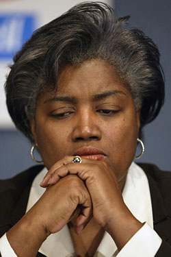 DONNA BRAZILE CAUGHT CHEATING?