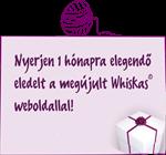 Whiskas nyereményjáték