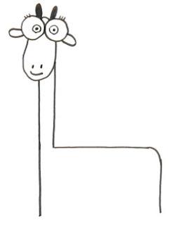 как нартсовать жирафа