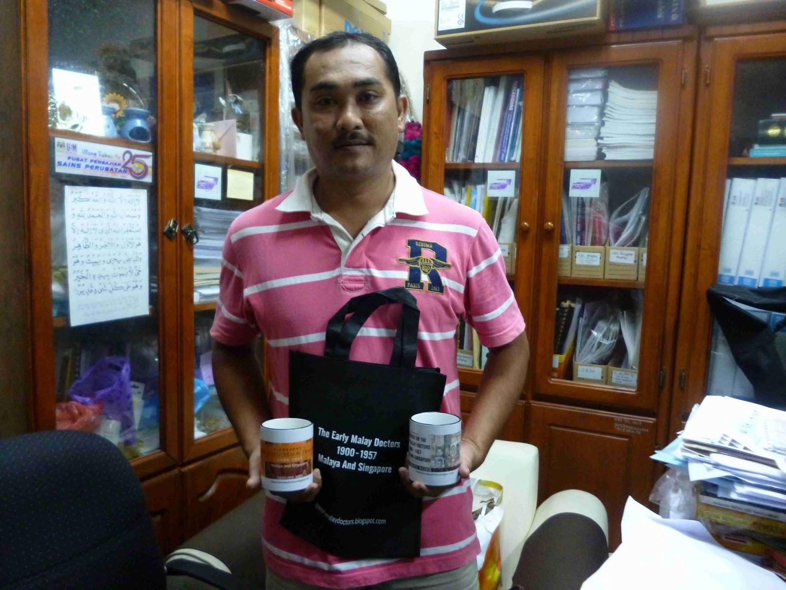 En Armee who made the bags and mugs in Kota Bharu Kelantan