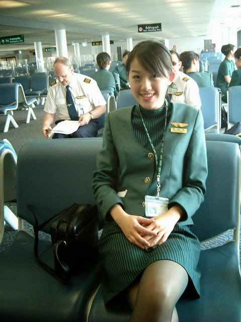 The Uniform Girls Pic Eva Air Stewdess Uniforms 3