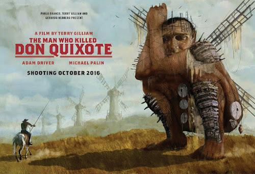 Dom Quixote ganha data de inicio da produção do filme