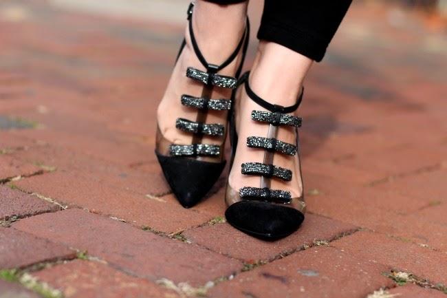 Black Tuxedo Shoes from Schutz Brazil