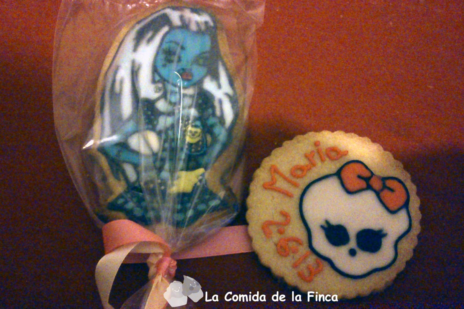 Galleta Monster High