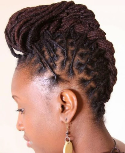 Dreadlocks hairstyles for women 2015 trends