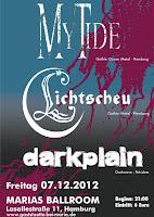 My Tide | Lichtscheu | Darkplain | Marias Ballroom