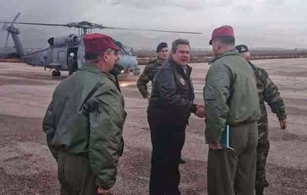 Ο Καμμένος δεν έλεγε πως ότι Τούρκικο αεροπλάνο εισβάλλει στην Ελλάδα θα πέφτει;