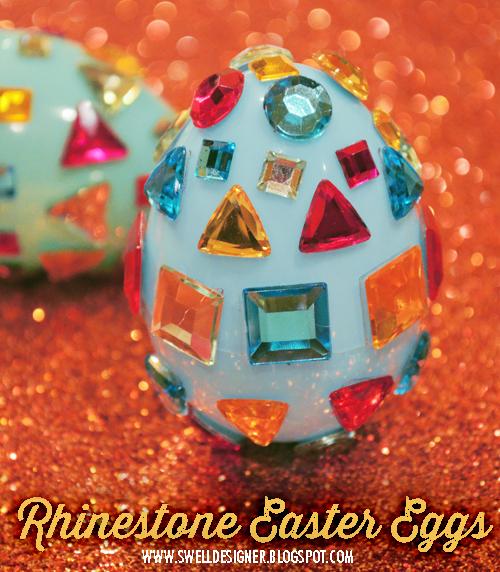 Rhinestone Easter Easy Rhinestone Easter Eggs