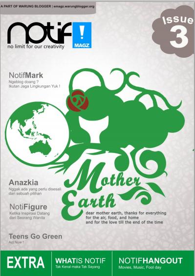 Notif 3rd Edition: Membawa Kesegaran dengan Tema mother earth