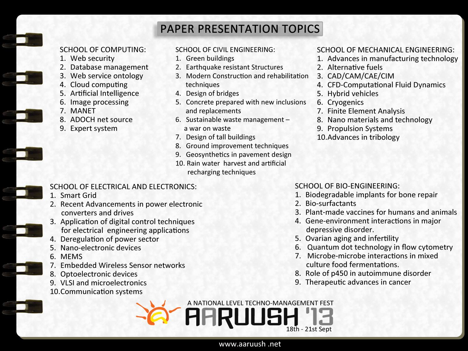 biomedical engineering batch srm university list of paper list of paper presentations in aaruush