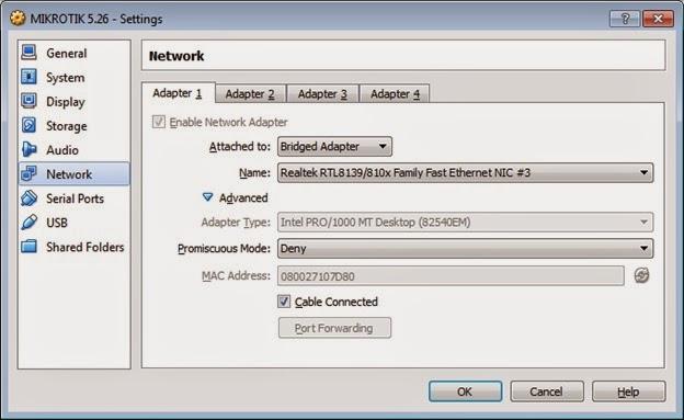 Mikrotik 5.26 - settings