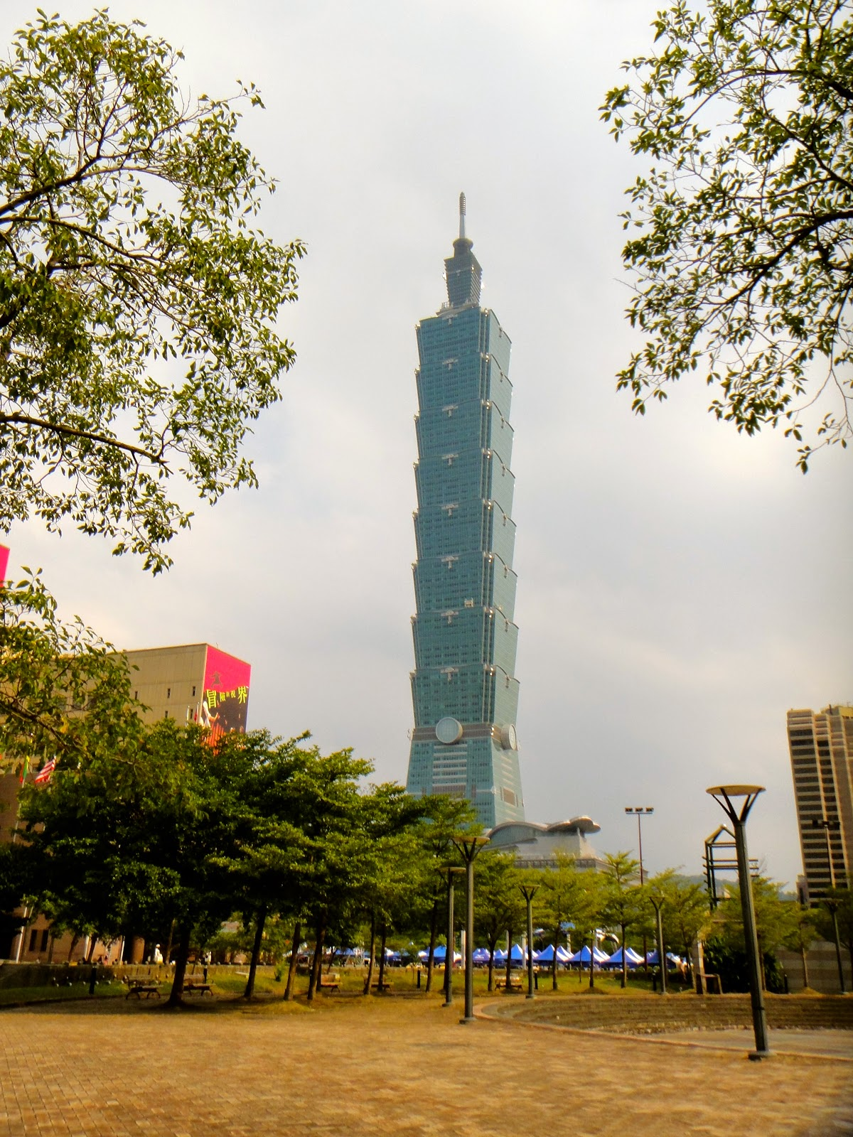 Taipei 101 Monument Taiwan