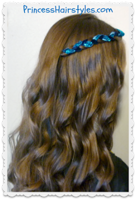 Disney Descendants Hairstyle Tutorial