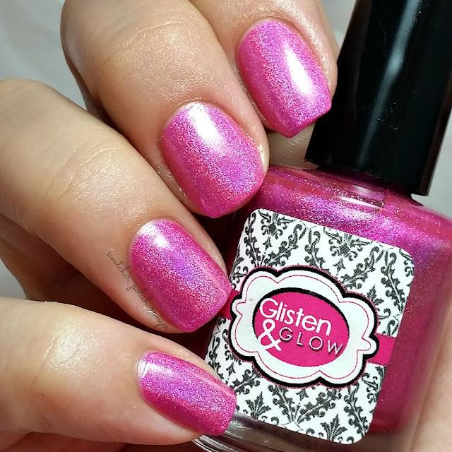 swatcher, polish-ranger | Glisten & Glow Raspberry Margarita swatch