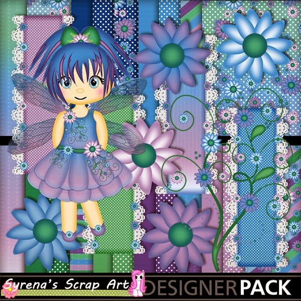 Fairy Myst Digital Scrapbook Kit