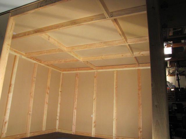 dawbox soundproof drum room ceiling exterior