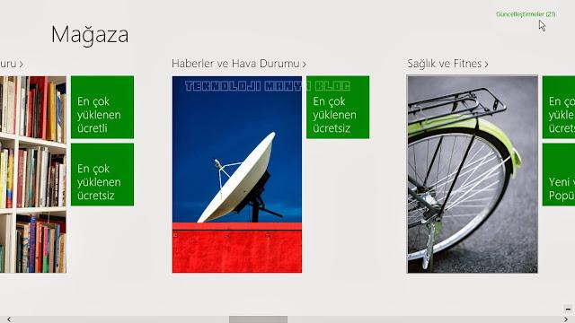 Windows 8 uygulamaları nasıl