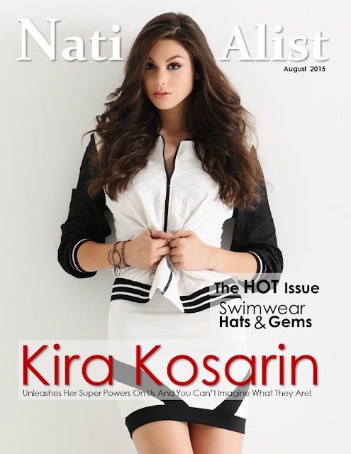 Actress, Singer @ Kira Kosarin - NationAlist, August 2015