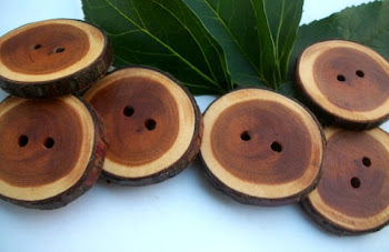English Yew Buttons