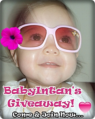 BabyIntan's Special Giveaway!