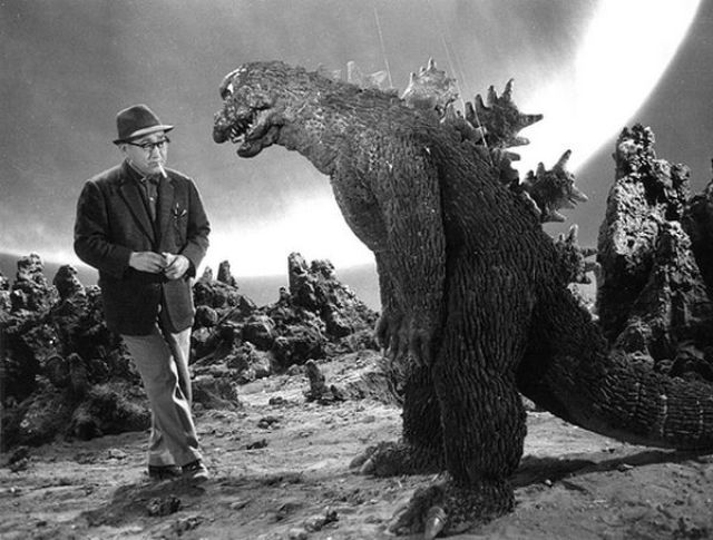 vintage everyday  behind the scenes of the first godzilla