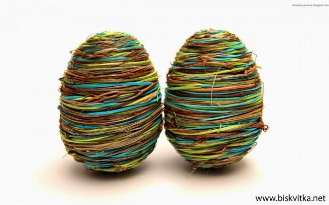 Unique Easter Eggs Decoration