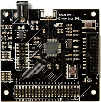 Eridani – 50 MHz ARM Cortex M3 with USB