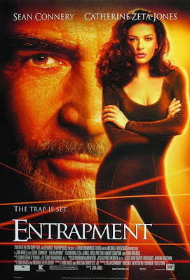 Watch Entrapment 1999 BRRip Hollywood Movie Online | Entrapment 1999 Hollywood Movie Poster