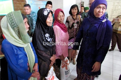 Menteri Sosial Republik Indonesia (RI) Khofifah Indar Parawansa