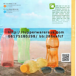 TupperwareRaya-Katalog Tupperware Reguler 2013, eco bottle