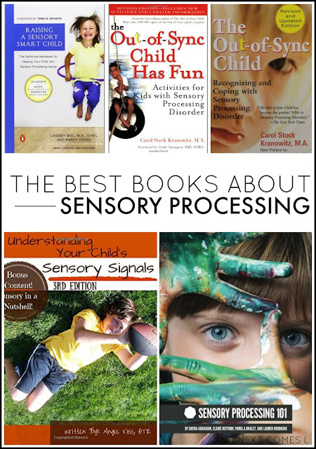 The best books about sensory processing and sensory issues from And Next Comes L