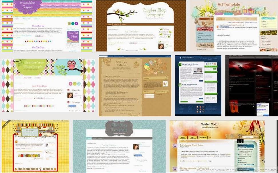 Cara Mengganti Template Blog pada Blogger.com