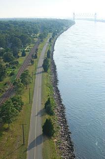 Bike Trail Beside the Cape Cod Canal