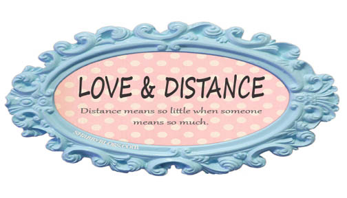 love and distance