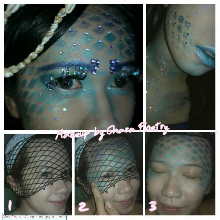 Mermaid Skin Makeup tutorial
