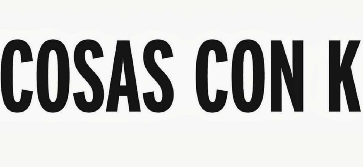 COSAS CON K - HANDMADE CLOTHING - ATTITUDE WEAR