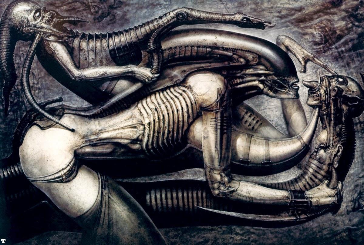 Alien slime impregnation hardcore image