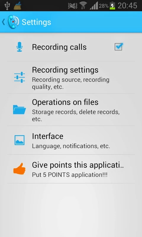 Call recorder (Full) v3.1.2