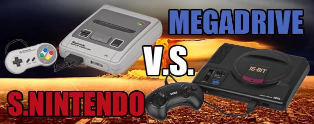 Así viví la gran guerra: Super Nintendo vs Megadrive