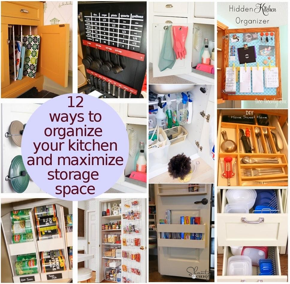 Many Ways To Organize Your Kitchen To Maximize Storage