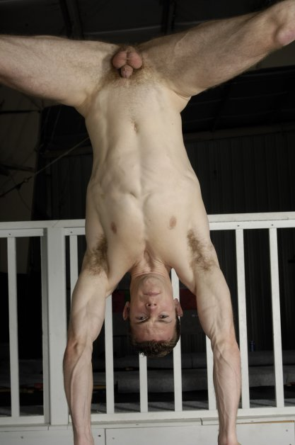 nude gymnast men