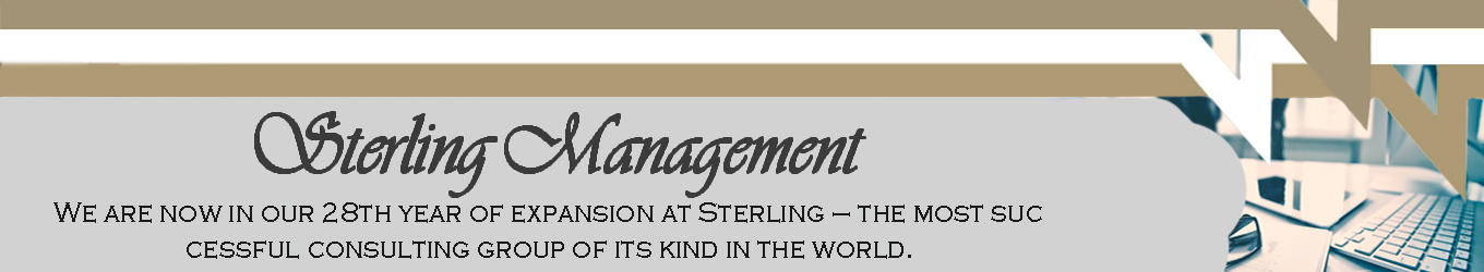 Sterling Management Expert Business Consultant