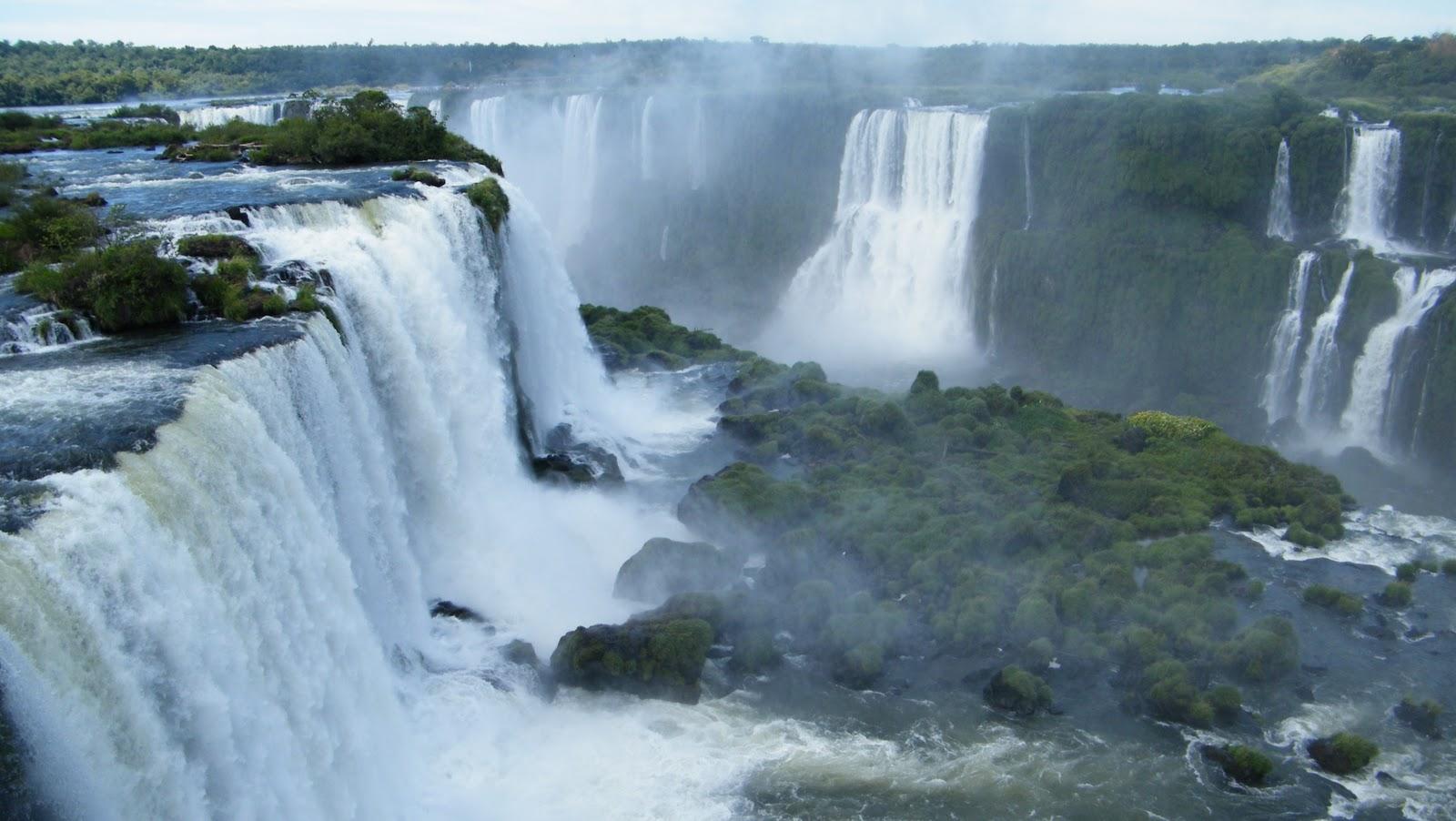 Чем ниагарский водопад и водопад