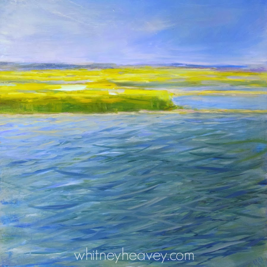 "oil paiting seascape ""Storm"" by Cape Cod artist Whitney Heavey"